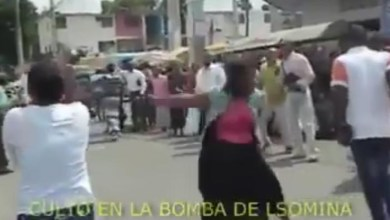 Evangelicos en La Bomba, de Los Mina, (Captura de pantalla)