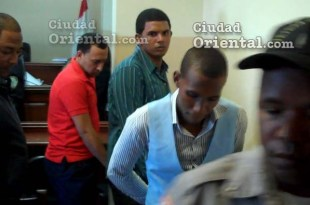 Los tres condenados, luego de dictada la sentencia