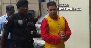 Ramón Tejada Jiménez, en custodia de las autoridades.
