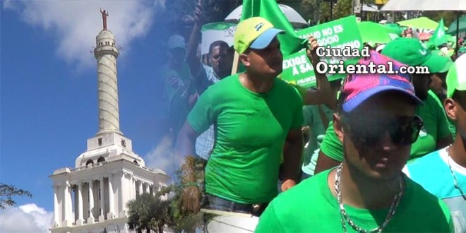 Marcha Verde en Santiago