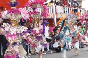 Alegría en el carnaval de San Luis 2017