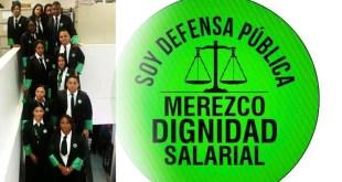 Los defensores públicos reclaman dignificación salarial