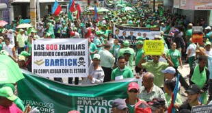 Marcha Verde San Francisco de Macorís / Foto de Willian Reyes Núñez