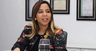 Mariel Ledesma, gerente de Comunicaciones de SeNaSa
