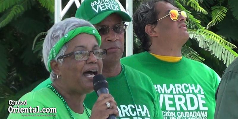 Vídeo - Altagracia Salazar anuncia los verdes irán a por los nombres de los sobornados