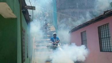 Photo of Amado Díaz lleva jornada de fumigación barrios circunscripción uno SDE