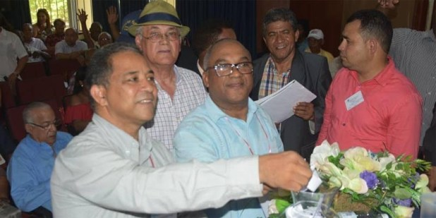 Miembros del Movimiento Marcelino Vega