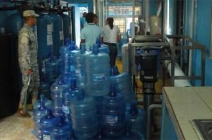 Envasadora de agua clausurada en SDE