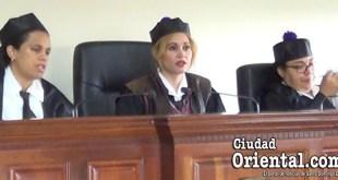 Juezas del Primer Tribunal Colegiado de la Provincia Santo Domingo