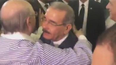 Photo of Hipólito Mejía y Danilo Medina vinieron a SDE y se abrazaron +Vídeo