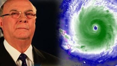 """Photo of Mensaje del expresidente Hipólito Mejía con motivo del paso del huracán """"Irma"""""""