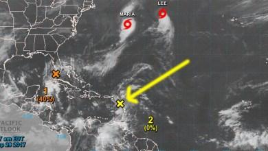 Photo of ¡Atentos! Se forma una nueva onda tropical por donde pasó el huracán María
