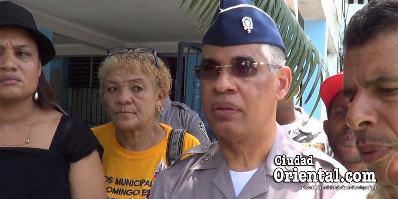 """¿Qué le dijo el general Neivis Pérez Sánchez a estos comunitarios de SDE tras el asesinato de un """"aéreo""""? + Vídeo"""