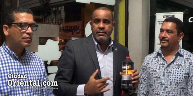 Danilo Mesa da explicaciones sobre el líquido de frenos Mag1 Dot 4