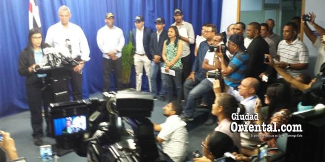 La Procuradora Fiscal Olga Diná Llaverías en rueda de prensa