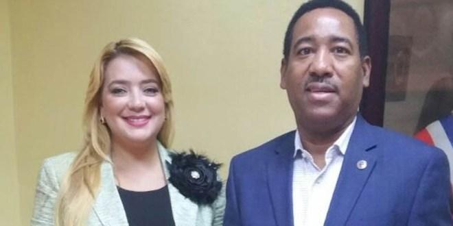 Raquel Cruz y Nicolás Calderón