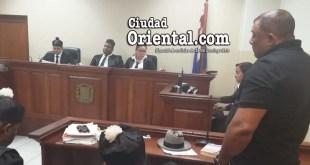 Domingo Rivera (a) Moisés, escucha la sentencia