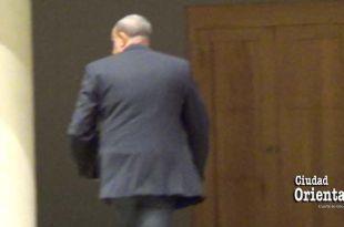 Danilo Mesa se marcha de la Sala Capitular