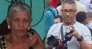 Idalia Polanco y su hijo Danny Polanco