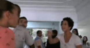 Una pariente de Angel Rondon amenaza a la ériodista Elbania Flores (Captura de pantalla)