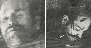 Cadáver de Francisco Alberto Caamaño
