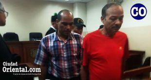 Los dos condenados, luego de la sentencia