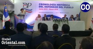 Presentación de las Ejecutorias del Defensor del Pueblo