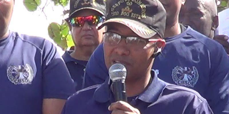 En el ASDE roban pistola del jefe del Cuerpo de Bomberos de SDE