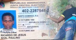 Ricardo de Jesús Shal Paulino