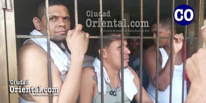 Tres de los condenados