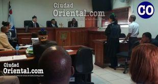 El juez Julio Aybar, estuvo a su cargo el dictamen de la sentencia.