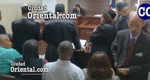 El tribunal acogió la querella de constitución en actor civil interpuesta por los familiares del hoy occiso.