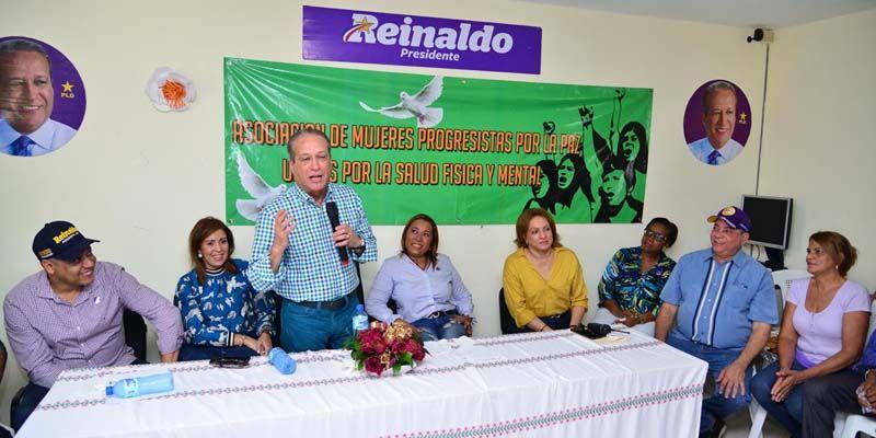 """Reinaldo Pared: """"Mis manos están preparadas para recibir la antorcha y continuar la gigantezca obra de los gobiernos del PLD"""""""