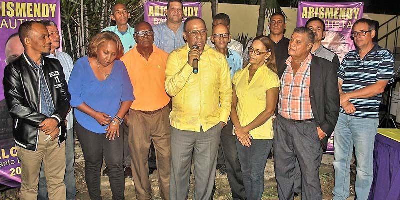 Presidentes de comités intermedio apoyan a Arismendy Bautista para Alcaldía de SDE