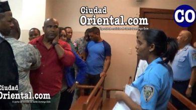 Tres de los condenados fueron arrestados en la Sala de Audiencias.