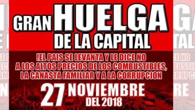 Photo of MPD apoya paro convocado en la Capital para el martes 27 de noviembre