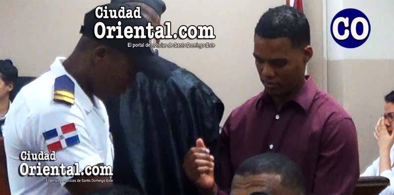 Jenrry Miguel García Vargas, puesto en custodia.