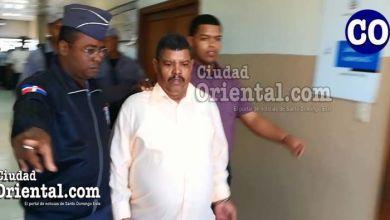 El ex agente de la Policía Nacional y su padre, conducido a un tribunal (Foto: Archivo de Ciudad Oriental).