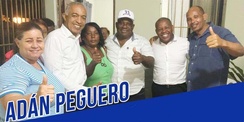 Confirmado: luisistas de SDE se dividen, unos se van con Adán Peguero y otros con Manuel Jiménez