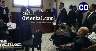 El juicio se conoce en la Primera Sala Penal.