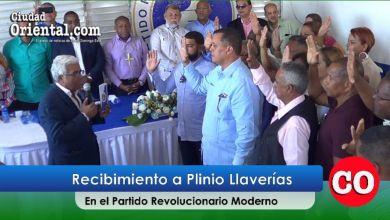 Photo of Plinio Llaverías recibido a lo grande en el PRM + Vídeo