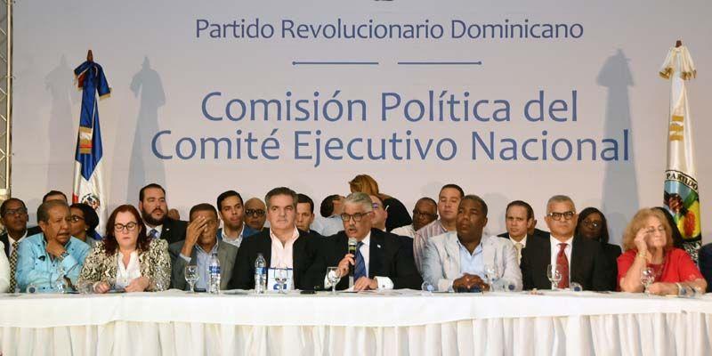Comisión Política traza ruta del PRD futuro inmediato; aprueba seis resoluciones de forma unitaria