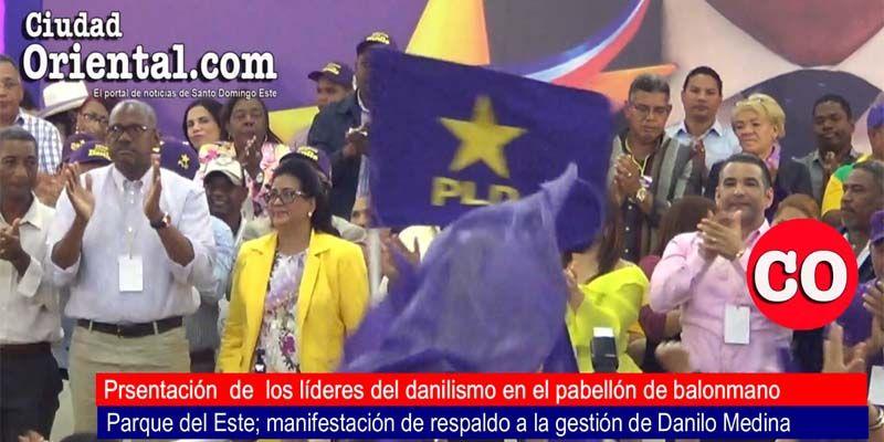 Así fueron obtenidos los estruendosos aplausos a favor de Alfredo Martínez en el acto de respaldo a Danilo Medina + Vídeo