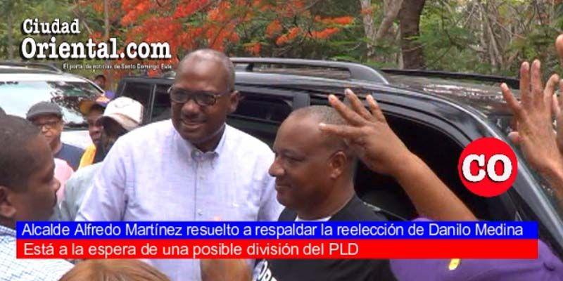 """Alfredo Martínez resuelto a respaldar reelección de Medina; pone a sus colaboradores leonelistas """"entre la espada y la pared"""""""