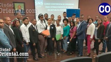 Photo of SNS capacita personal de seguridad en Hospital Doctor Darío Contreras