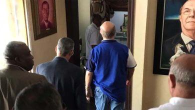 Photo of Captan a Manuel Jiménez y José Sánchez en visita a Hipólito Mejía
