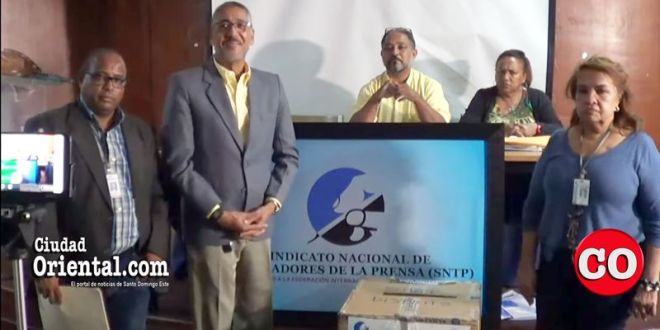 Miembros de la Comisión Nacional Electoral del SNTP
