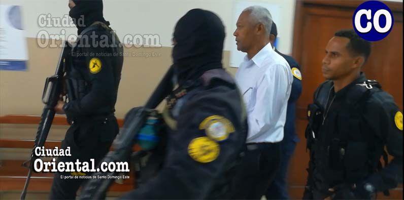 Manuel Roa Castillo, en custodia policial.