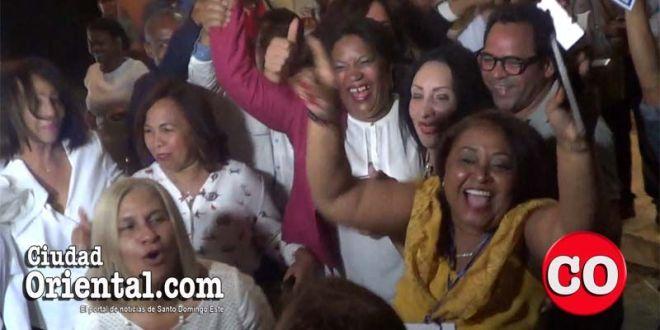 Marcelinistas celebran triunfo en elecciones del CDP