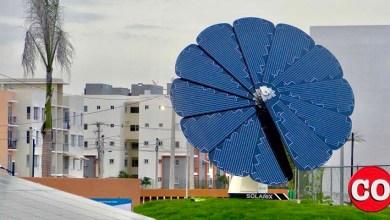 """Photo of AES donó primer """"Girasol solar inteligente"""" de RD y el Caribe al Parque de Energía Renovable"""